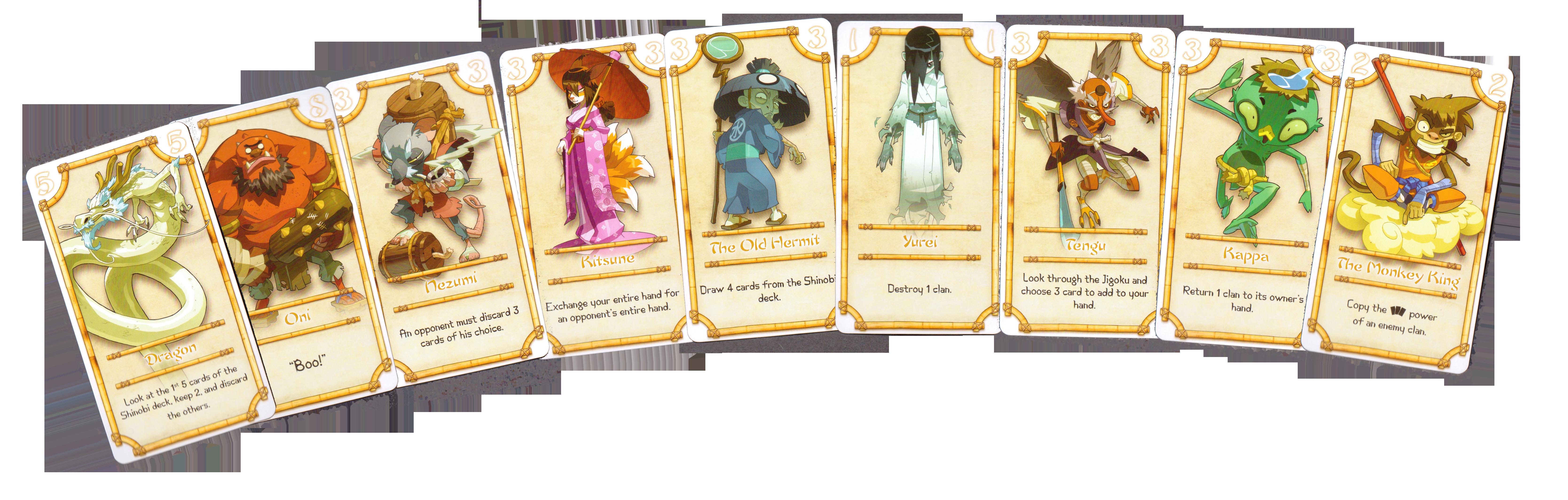 The Yokai Cards